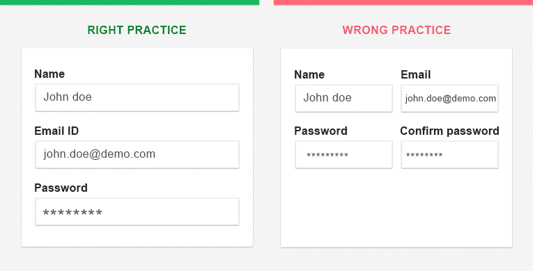How To Set The Right Web Form 1