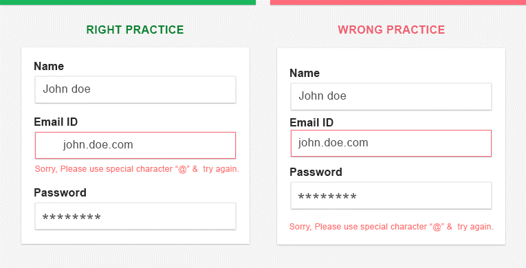 How To Set The Right Web Form 3