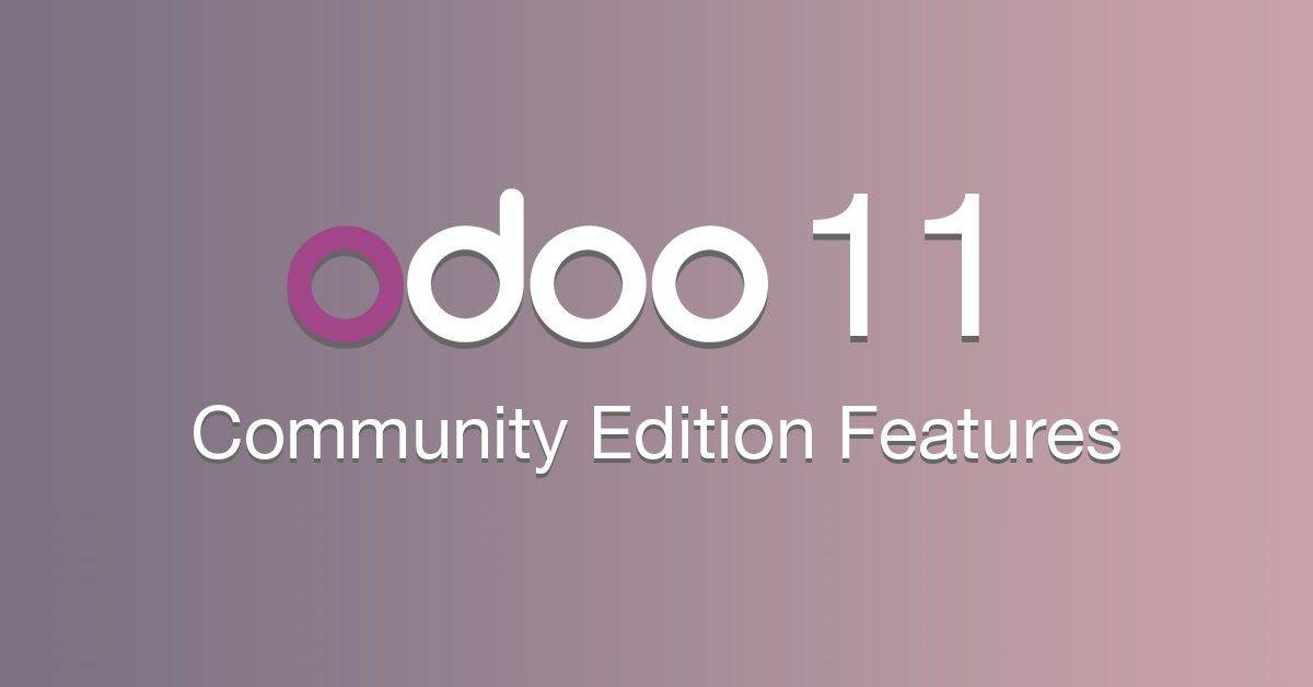 odoo-11 Features