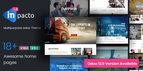 Odoo ecommerce theme – impacto- odooblogs
