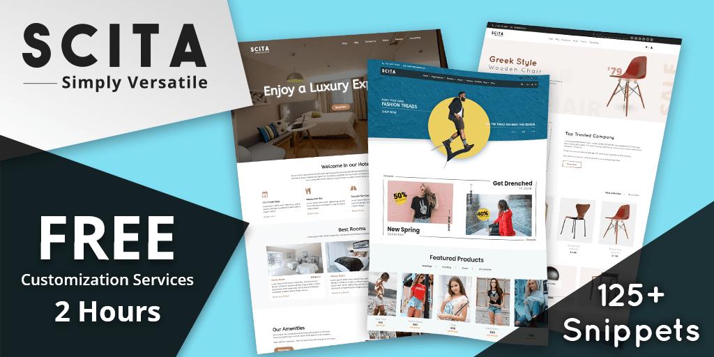 Odoo ecommerce theme – scita- odooblogs