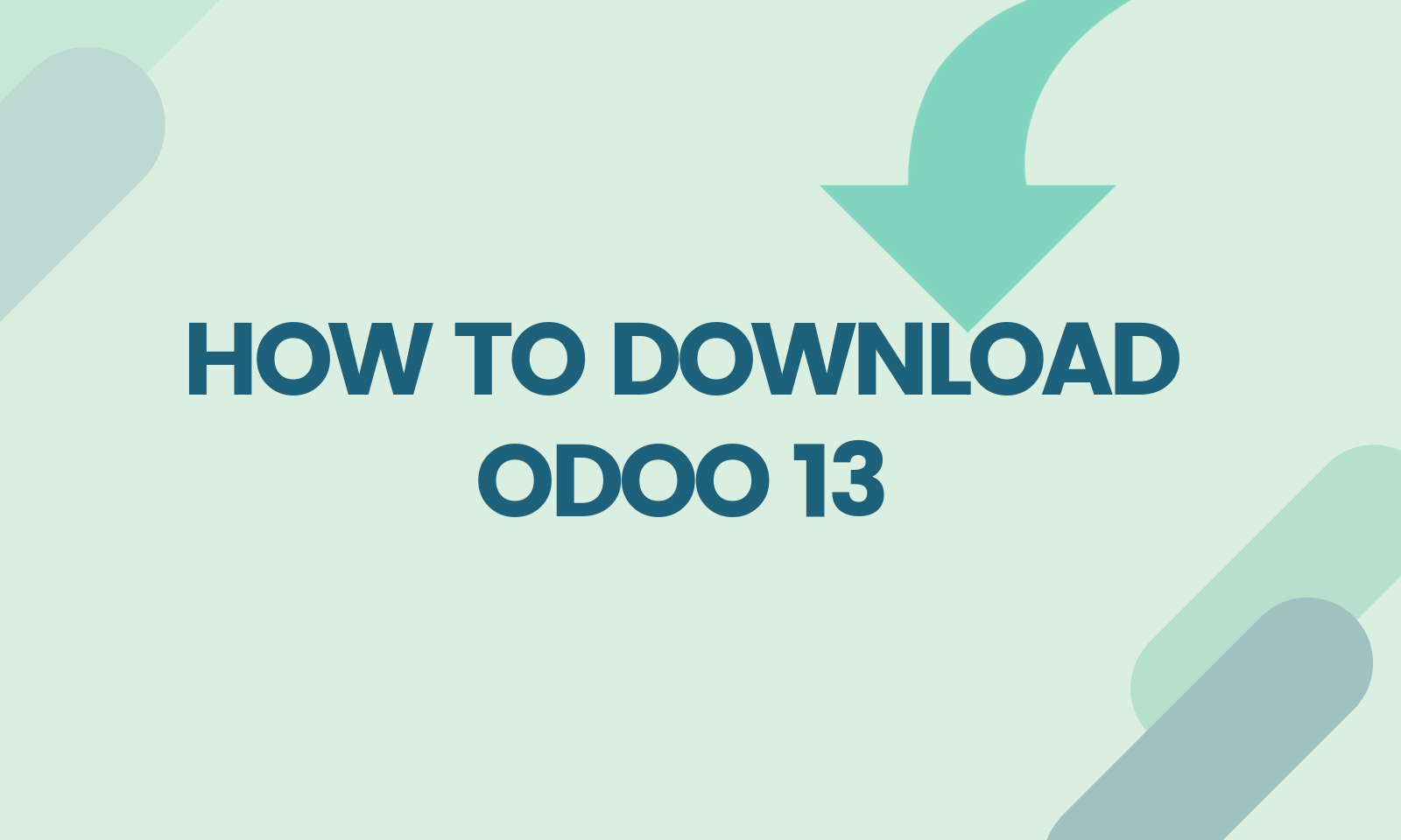 How to download odoo 13 – Odooblogs